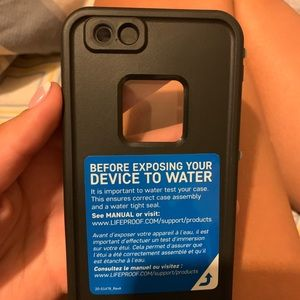 LifeProof Accessories - Brand new iPhone 6s LifeProof